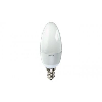 OSRAM B40 E14 LED 5.7W=40W 470LUMEN COOL DAYLIGHT 6500K